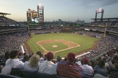 Philadelphia Phillies vs Milwaukee Brewers Royaltyfri Bild