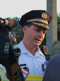 Philadelphia Police Chief Inspector Royalty Free Stock Image