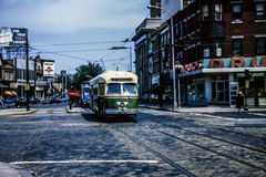 Philadelphia PTC PCC Trolley #2760, in 1965 Stock Image