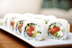 Philadelphia roll Stock Photo
