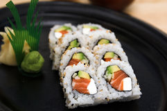 Philadelphia Roll royalty free stock photo