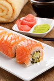 Philadelphia roll sushi Stock Photos