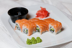 Philadelphia rolls Stock Photo