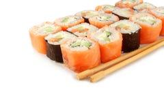 Philadelphia rolls. Sushi Royalty Free Stock Images