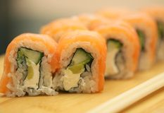 Philadelphia rolls Stock Photography