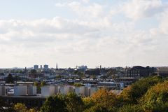 Philadelphia rooftops Royalty Free Stock Photo