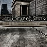 Philadelphia södra gatastation Royaltyfria Bilder