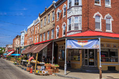Philadelphia's Italian market Royalty Free Stock Image