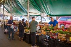 Philadelphia's Italian market Stock Images