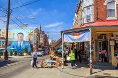 Philadelphia's Italian market Royalty Free Stock Photos