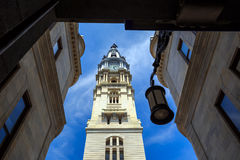 Philadelphia's landmark historic City Hall Royalty Free Stock Images