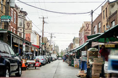 Philadelphia's 9th street Italian Market Royalty Free Stock Photography
