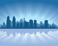 Philadelphia skyline Royalty Free Stock Photos