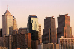 Philadelphia-Skyline Stockbilder