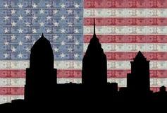 Philadelphia skyline Royalty Free Illustration
