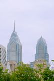 Philadelphia Skyline. The famous landmark of One Liberty Place defines the skyline of download Philadelphia, PA Stock Images