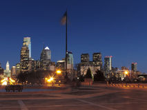 Philadelphia Skyline at Dusk Royalty Free Stock Photography