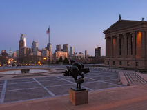 Philadelphia Skyline at Dusk Royalty Free Stock Image