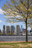 Philadelphia Skyline (early spring) Royalty Free Stock Photography