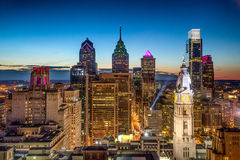 Philadelphia skyline Stock Photography