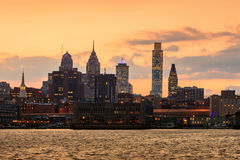 Philadelphia skyline Royalty Free Stock Images