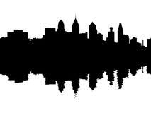 Free Philadelphia Skyline Reflected Stock Photography - 9866242