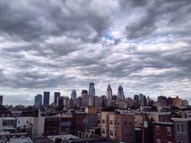 Philadelphia Skyline Royalty Free Stock Photography