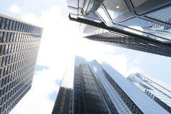 Philadelphia Skyscrapers Stock Photography