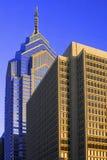 Philadelphia Skyscrapers. Skyscrapers in Center City, Philadelphia, Pennsylvania Stock Photo