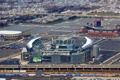 Philadelphia Sports Complex. Ariel view of Philadelphia Sports Complex  showing (left to right