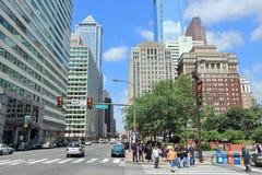 Philadelphia stad Royaltyfria Bilder