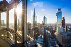 Philadelphia stadshusbyggnad. Arkivbilder