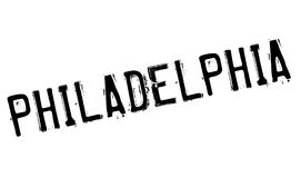 Philadelphia stamp rubber grunge Stock Images