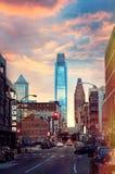 Philadelphia-Straße lizenzfreies stockbild