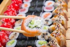 Philadelphia sushi roll Royalty Free Stock Photography