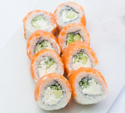 Philadelphia sushi roll Royalty Free Stock Image