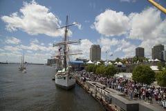 Philadelphia tall ship 2015 stock image