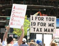Philadelphia Tea Party royalty free stock photo