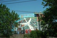 PHILADELPHIA, USA - MAY 23 2018 - City Murals legacy stock photos