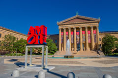 Free PHILADELPHIA, USA - NOVEMBER 22, 2016: The Philadelphia Pennsylvania Museum Of Art East Entrance And North Wing Stock Image - 95166501