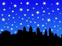 Philadelphia In Winter Royalty Free Stock Image