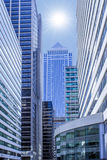 "Philadelphia, zonnige dag op het centrale bedrijfsdistrict (""Penn Center"") royalty-vrije stock fotografie"