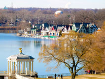 Philadelphiaboathouse-Reihe Lizenzfreie Stockfotos