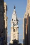 PhiladelphiaRathaus mit Punkt-Filter Stockbilder