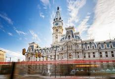 Philadelphias stadshus Royaltyfria Bilder