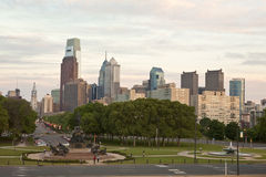 Philadelphie occupée Photo libre de droits