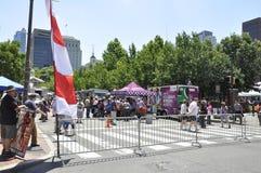 Philadelphie, PA, le 3 juillet : Célébration de ville de Philadelphie en Pennsylvanie Etats-Unis Photos libres de droits