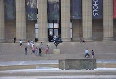 Philadelphie, PA, le 3 juillet : Sculpture nationale en avant d'Art Museum de Philadelphie en Pennsylvanie Etats-Unis Photo stock