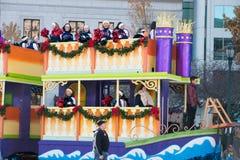 Philadelphie, PA - 23 novembre 2017 : Défilé annuel de jour de thanksgiving dans la ville centrale Philadelphie, PA Image stock