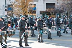 Philadelphie, PA - 23 novembre 2017 : Défilé annuel de jour de thanksgiving dans la ville centrale Philadelphie, PA Images libres de droits